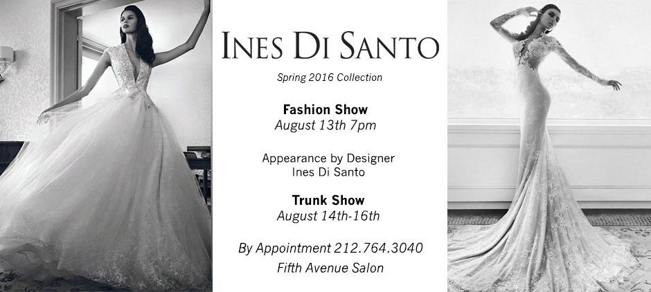 Ines Di Santo Fashion Show - August 13th, 2015