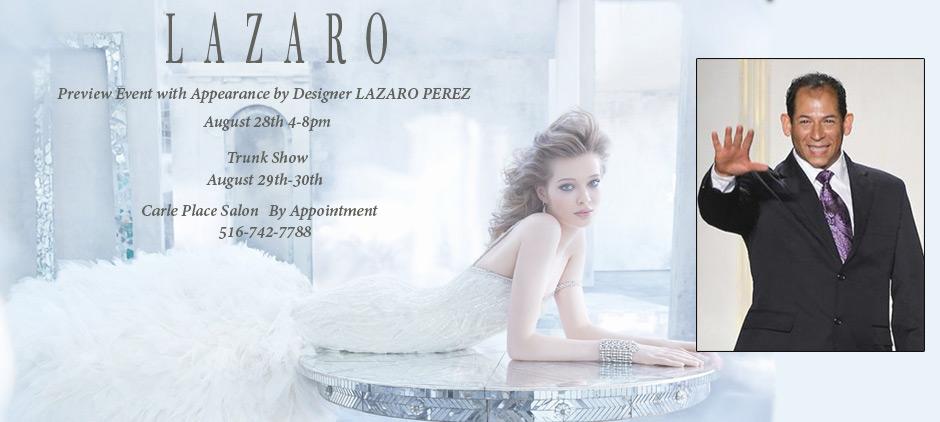 Lazaro Bridal Show