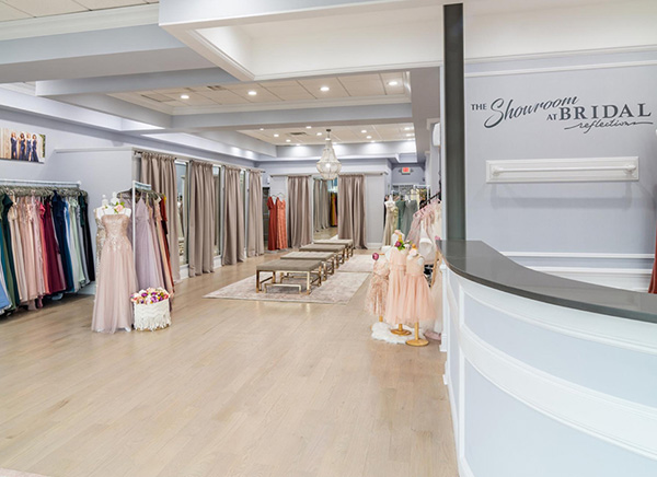 Our Bridesmaids Showroom: The Showroom at Bridal Reflections