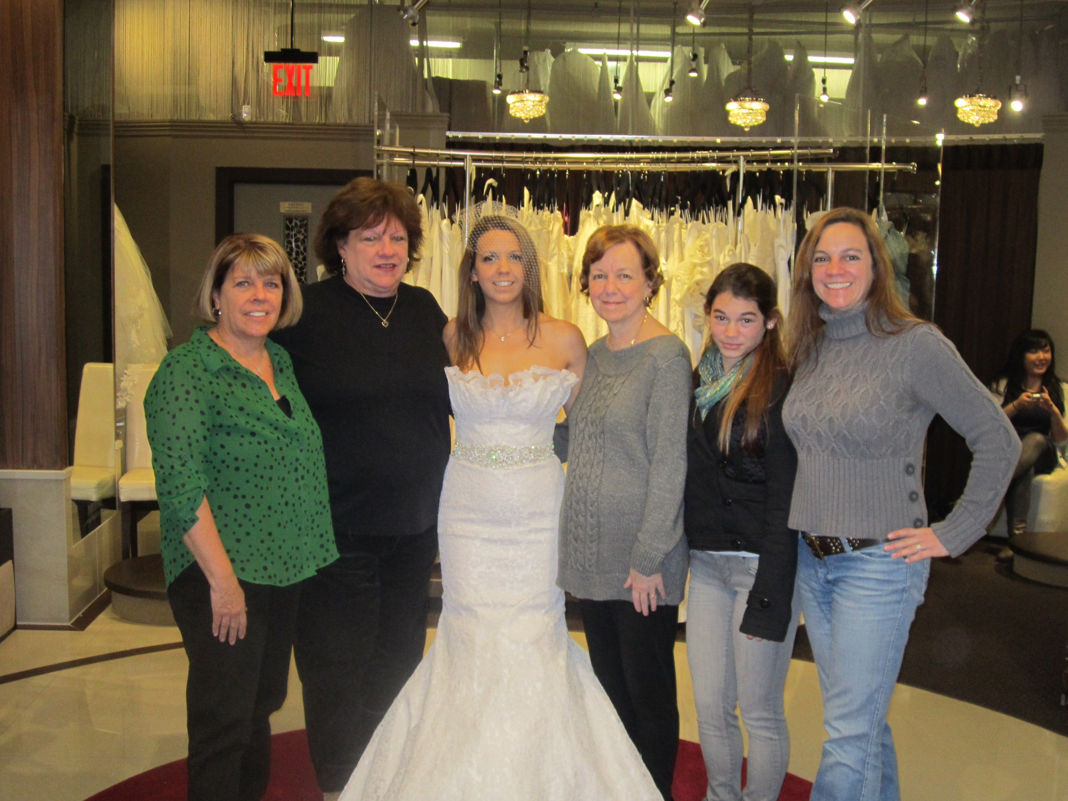Brides Across America Bride and Family