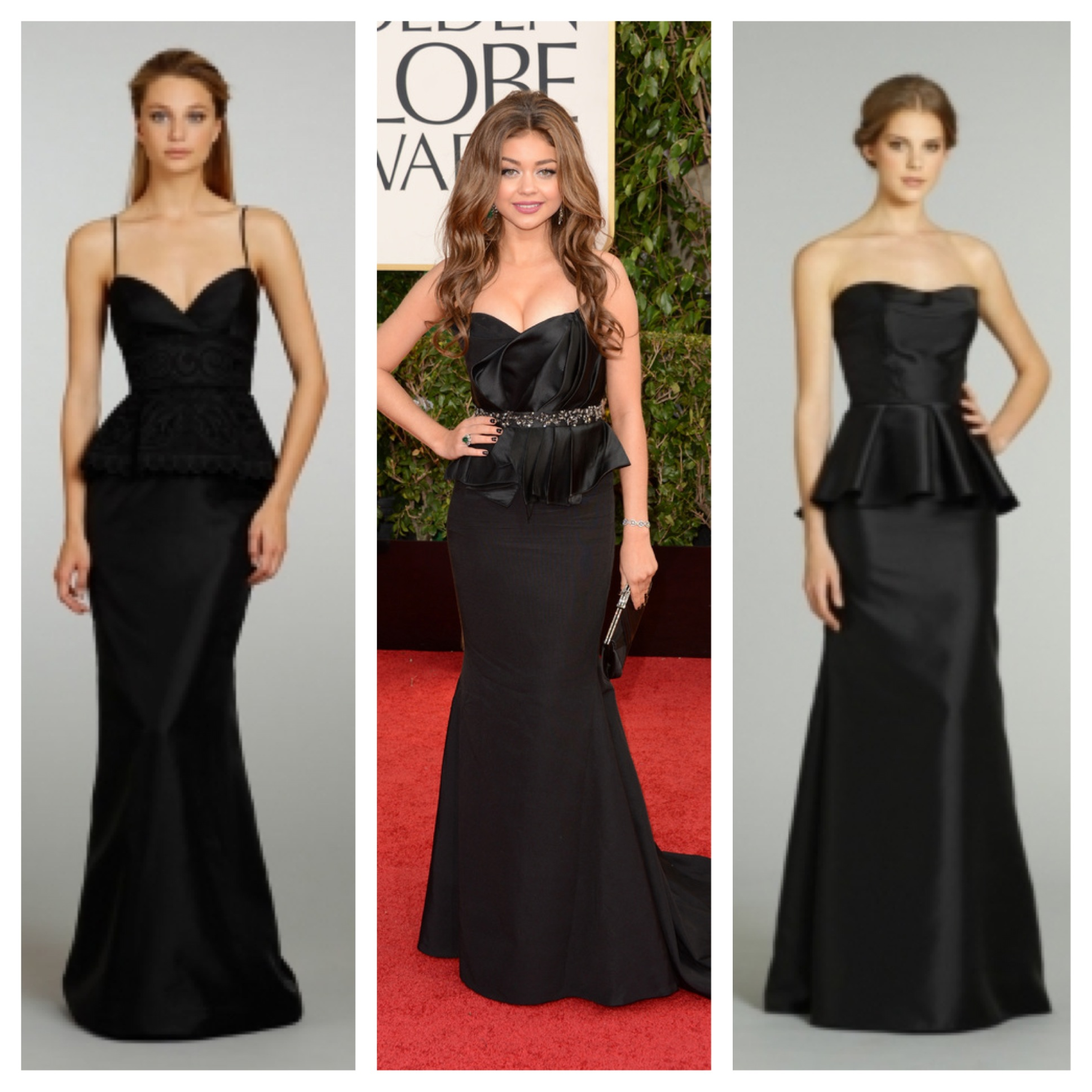 Wedding Gowns For Hourglass Figures: Red Carpet Looks In Brilliant Reds, Emeralds And Classic