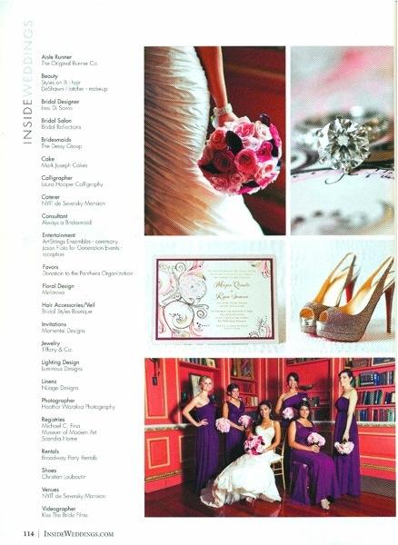 Inside Weddings Magazine Page 3