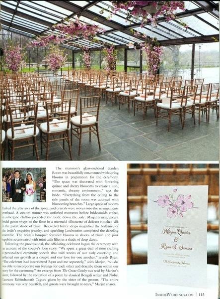 Inside Weddings Magazine Page 4