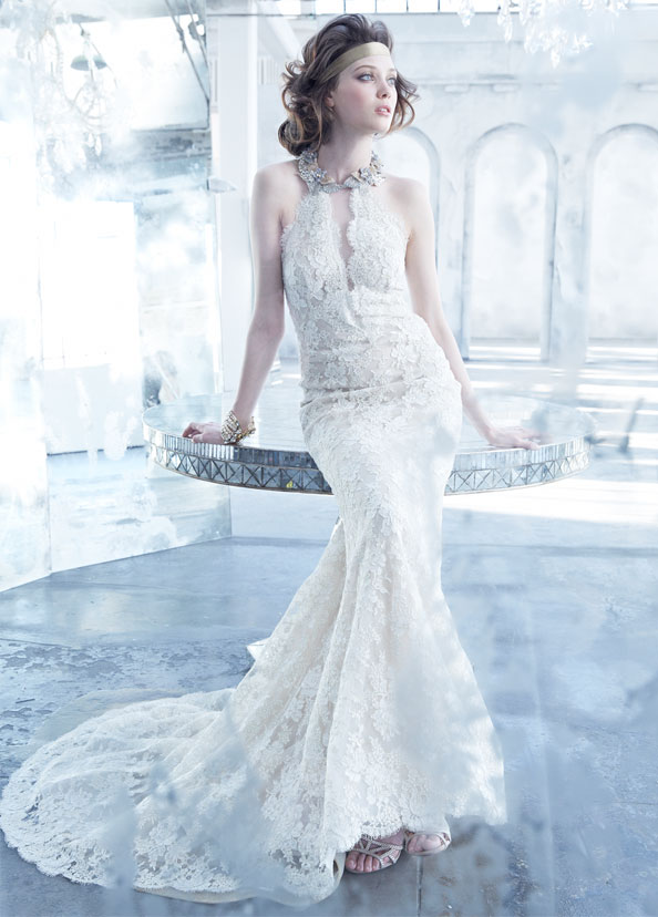 Fine Lazaro Wedding Gowns Ornament - Womens Dresses & Gowns ...