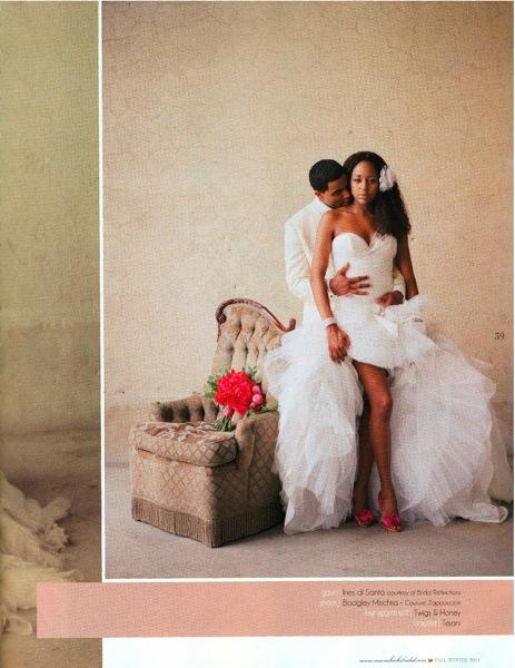 Munaluchi Bride Magazine Feature Page 1