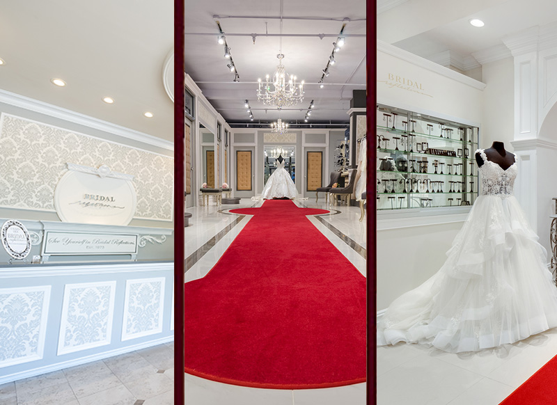 Three Salons Offer our Brides the Utmost in Convenience