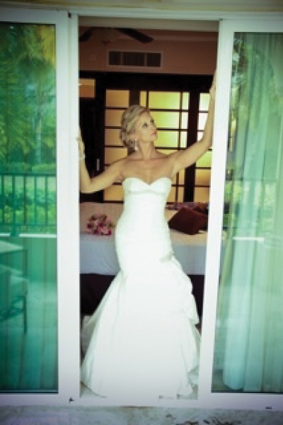 Real Bride Carolin