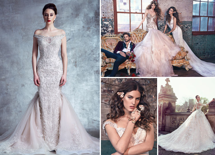 couture wedding dresses and bridal gowns by todays top designers