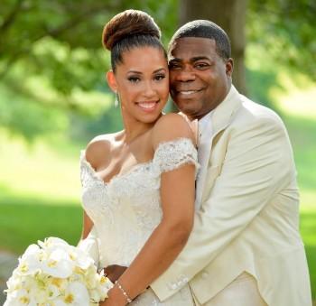 Megan Wollover and Tracy Morgan Wedding Photo