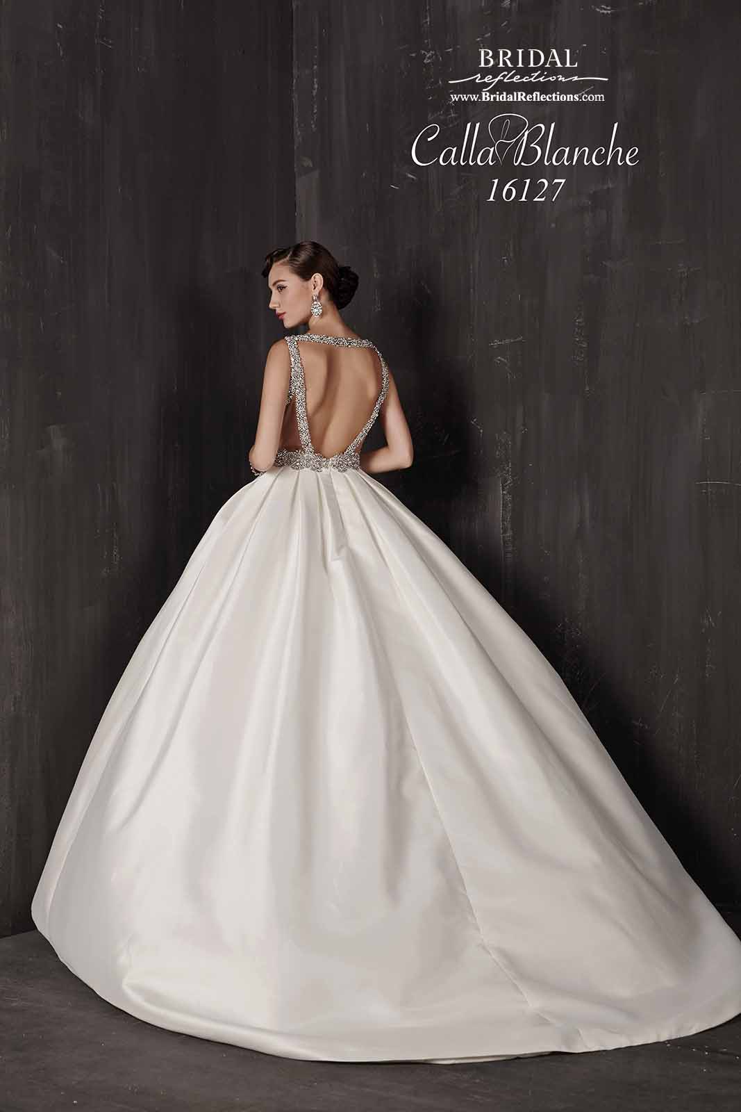 Calla Blanche Wedding Dress Collection   Bridal Reflections Traditional Wedding Vows