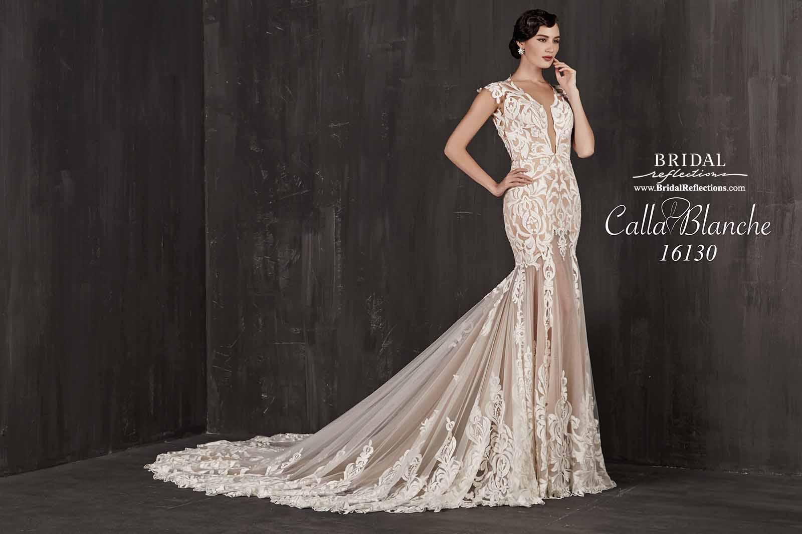 Calla Blanche Wedding Dress Collection Bridal Reflections