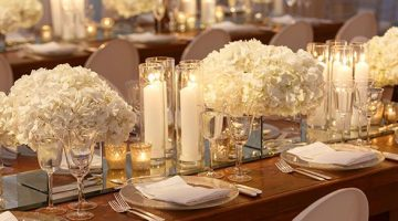 Wedding Wednesday: Décor we are loving- Mirrors!