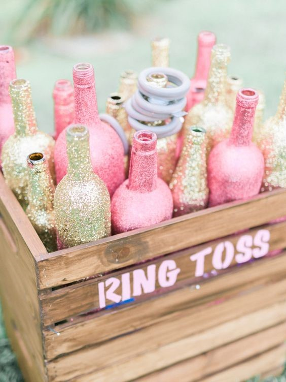 sparkle ring toss source httpwwwstylemeprettycom