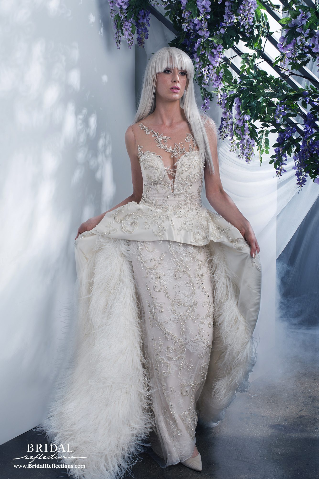 Ysa makino wedding dress and bridal gown collection for Wedding dress brands under 2000