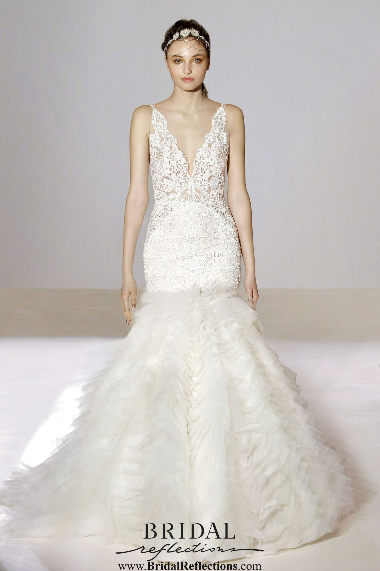Lazaro wedding dress and bridal gown collection bridal for Wedding dress brands under 2000