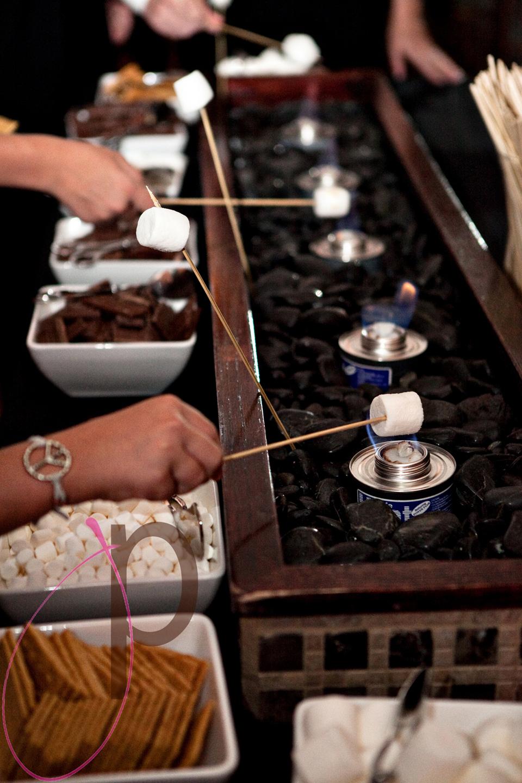 A make your own smores bar! Source: http://ziggityzoom.com/content/easy-smores-bar-make