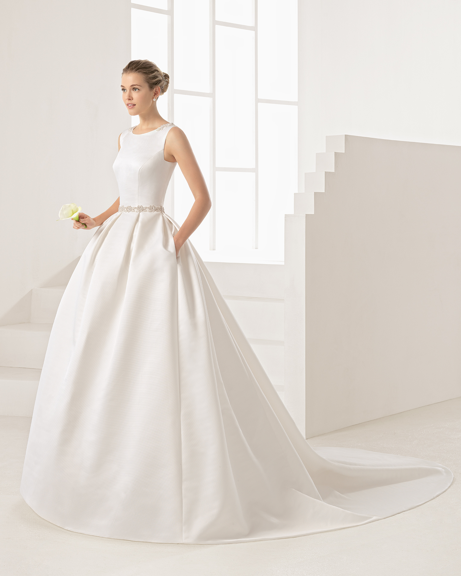 Wedding Dresses With Cool Backs: Rosa Clará Two Wedding Dress Collection