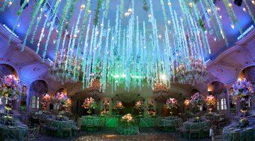 Wedding Wednesday: Ceiling Décor