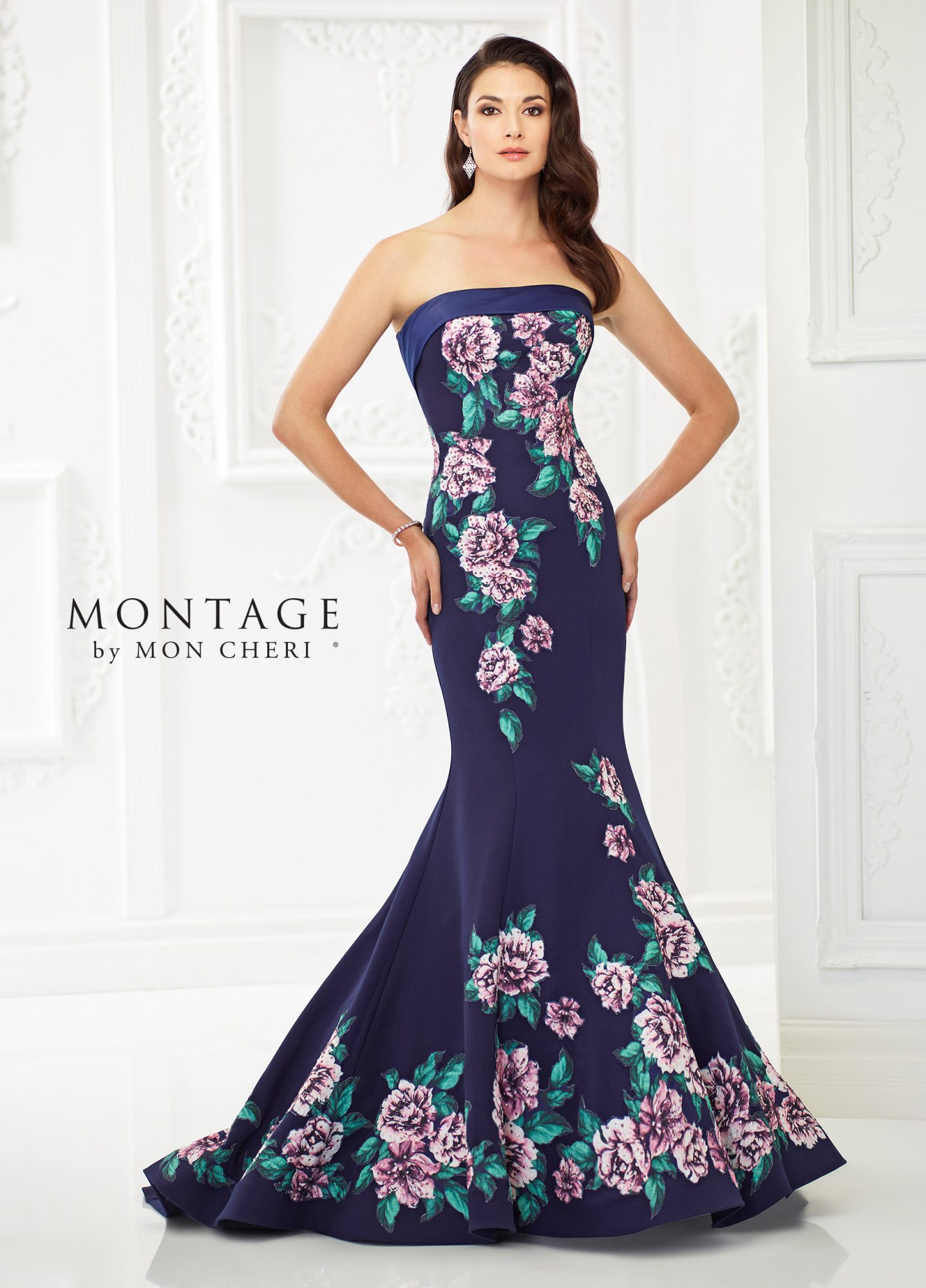 Montage by Mon Cheri Wedding Evening Dress and Gown Collection ...