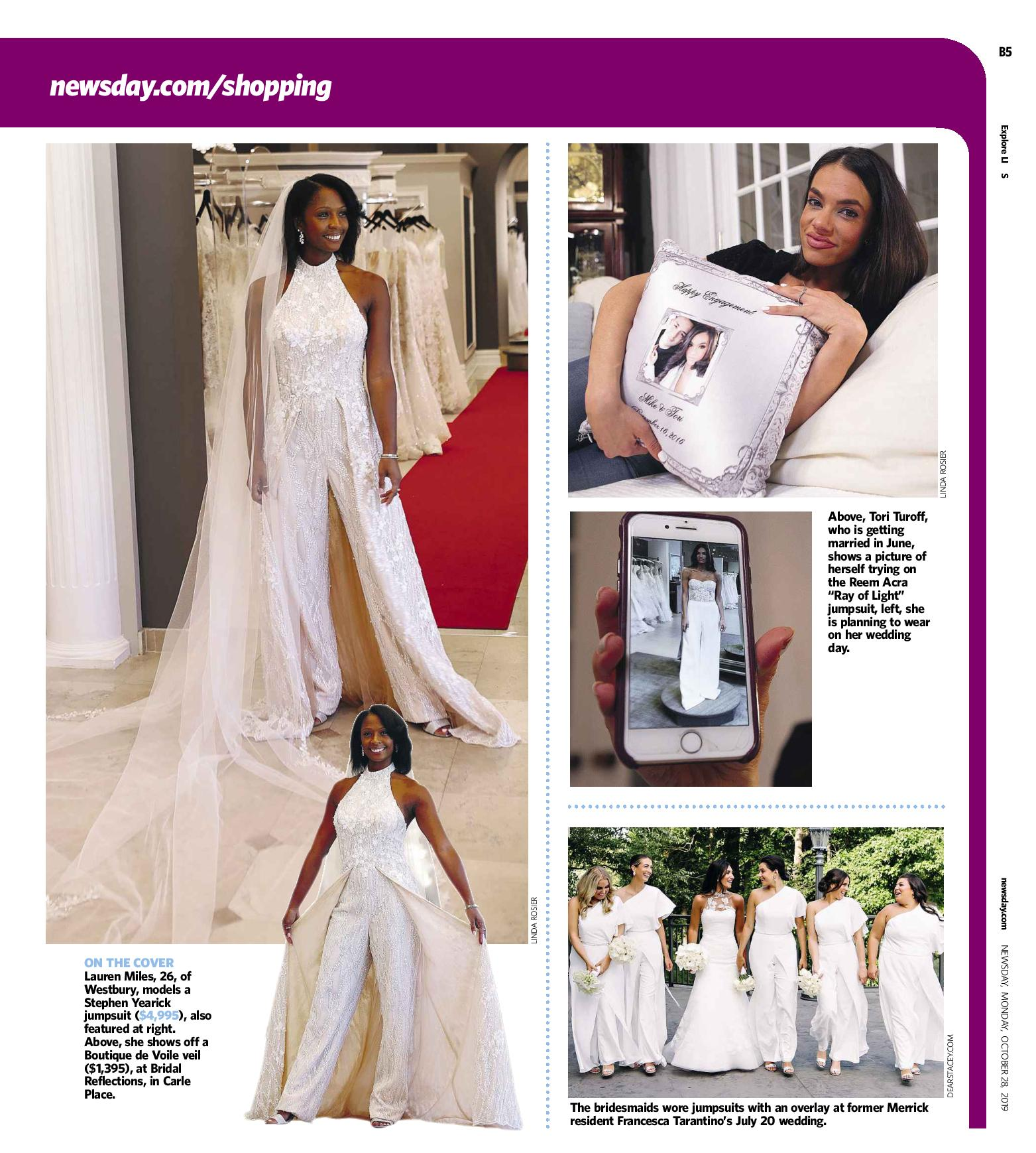 And the Bride Wore Pants page 3 - Stephen Yearick jumpsuit