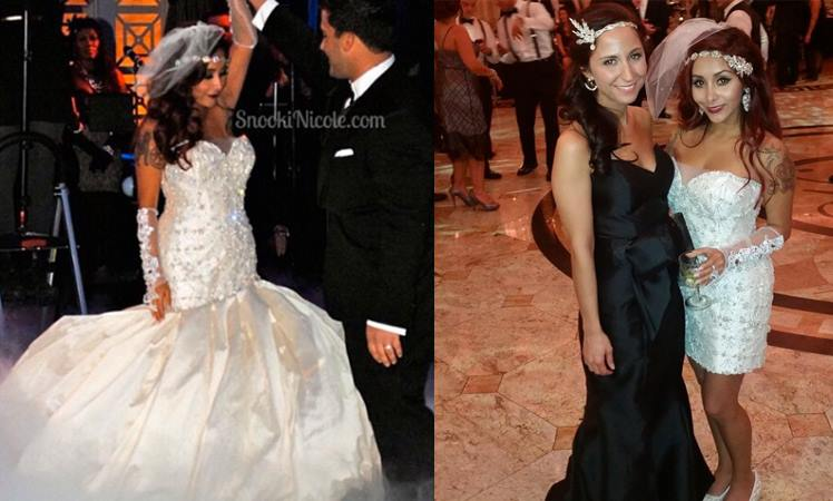 Bridal Reflections Real Bride Snooki Gatsby Wedding