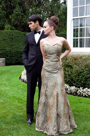 Cm Couture Wedding Evening Dress And Gown Collection
