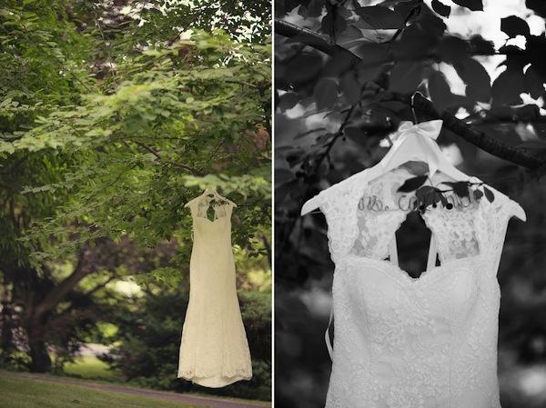Real Bride Carissa | Christine Anthony Wedding Dress | Bridal ...