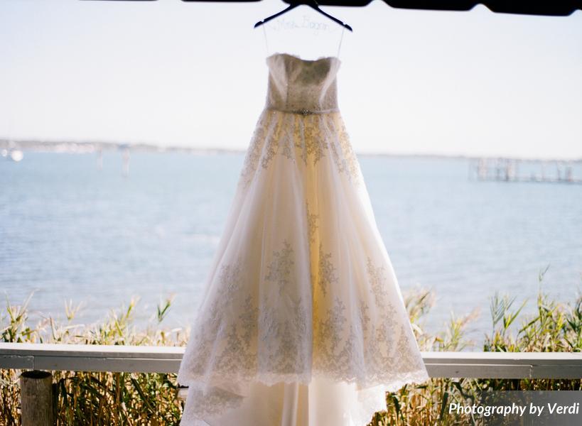 Borrowed and Blue Beach Wedding   Bridal Reflections