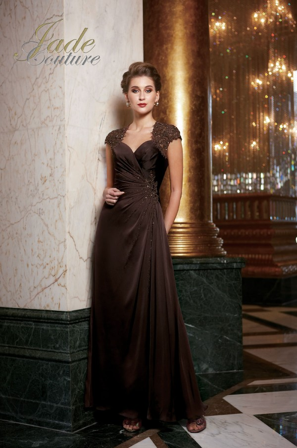 Jade Couture Wedding Evening Dress And Gown Collection
