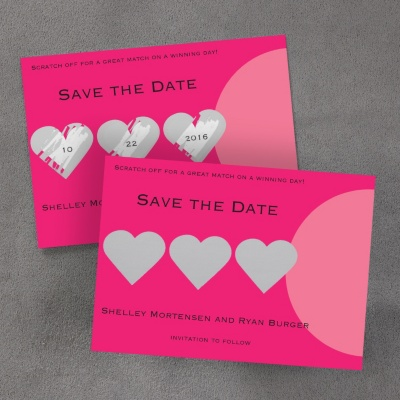 unique wedding save the date ideas