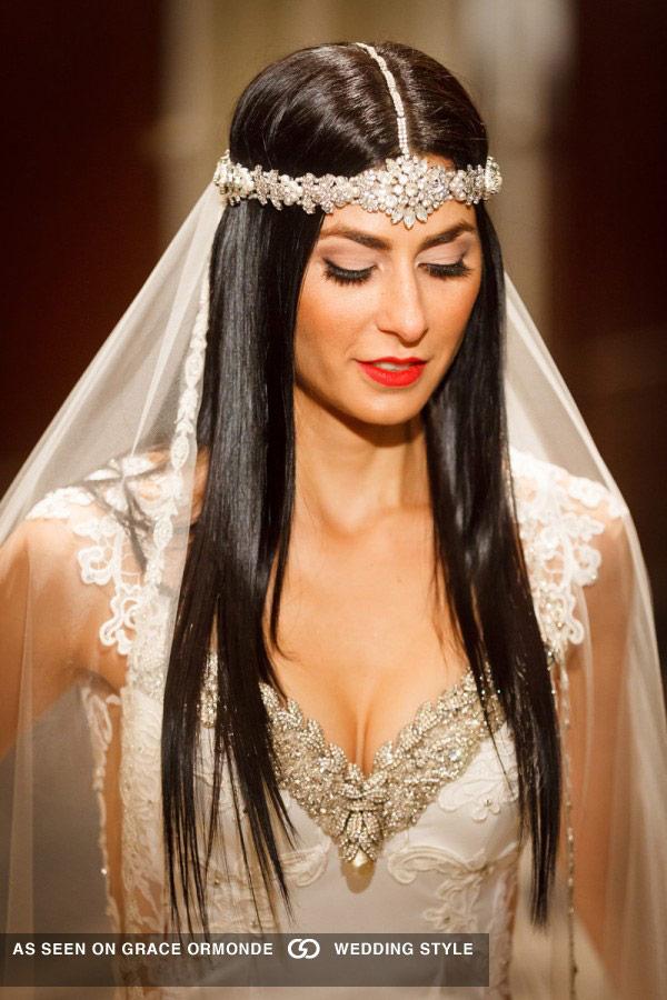 Bridal Reflections Galia Lahav Bride in Grace Ormonde
