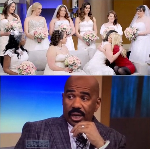 Brides Across America on Steve Harvey Show